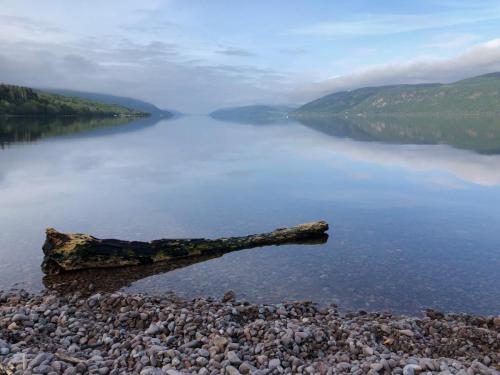 Loch Ness in a reflective mood